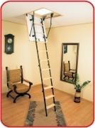 чердачная лестница Oman MINI размеры: 80,100х60,70 высота 265см