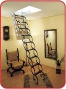 чердачная лестница Oman Nozycowe Termo размеры: 120х70 высота 260-290см