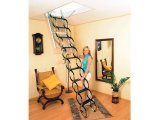 Фото  2 Чердачная ножничная лестница Oman Flex Termo Metal Box (220x70) H290 2237426