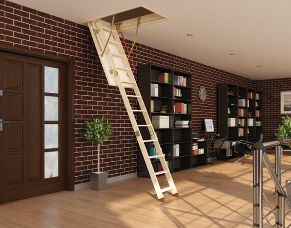 Чердачные лестницы, деревянные и металлические