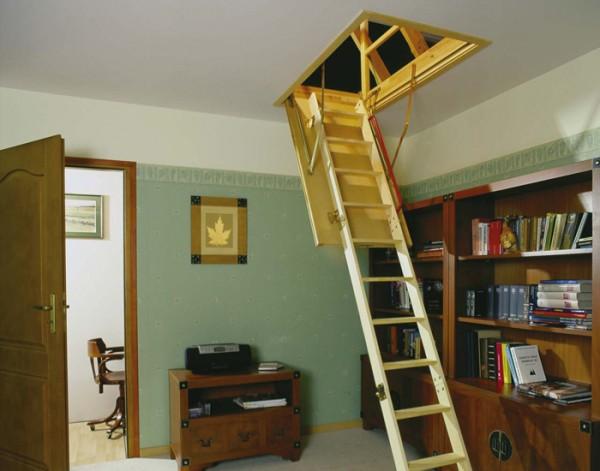 Чердачные лестницы суперэнергосберегающие FAKRO LTK THERMO (ФАКРО ЛТК ТЕРМО)