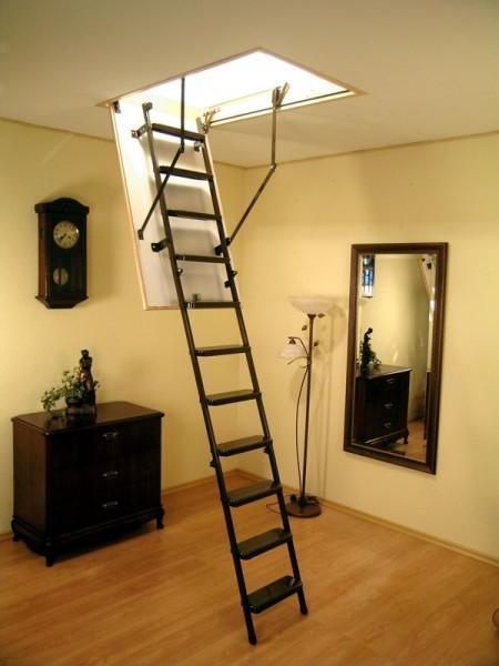 Чердачные лестницы OMAN Metal T3