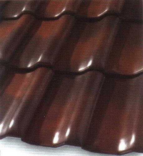 Черепица керамическая ангоба осенний лист