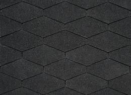 Черепица класса ПРЕМИУМ IKO Monarch-Diamant 01 Black