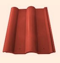 Черепица полимерпесчаная рядовая оранжевая