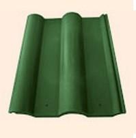 Черепица полимерпесчаная рядовая зеленая