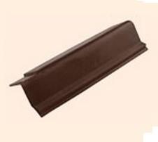 Черепица полимерпесчаная ветровая коричневая