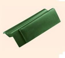 Черепица полимерпесчаная ветровая зеленая