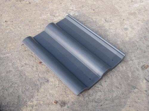 Черепица серая полимерпесчаная