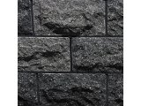 Фото  1 Плитка цокольная облицовочная Ecobrick черная. плитка рваный камень 2318680