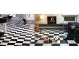 Фото  6 Черно белый линолеум шахматная доска 2000 2634975
