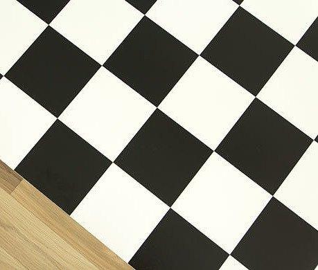 Фото  1 Черно белый линолеум шахматная доска 2500 2135194