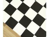 Фото  9 Черно белый линолеум шахматная доска 2934974