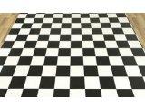 Фото  5 Черно белый линолеум шахматная доска 3000 2534976