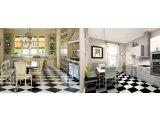 Фото  10 Черно белый линолеум шахматная доска 3000 21034976