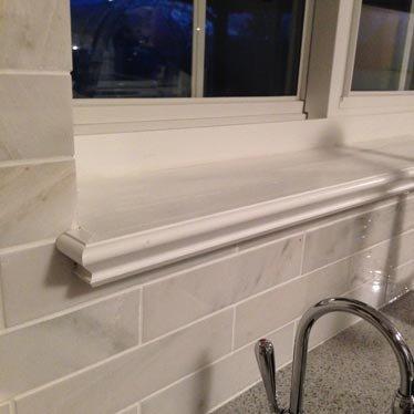 Фото 6 Подоконники из мрамора гранитные подоконники строительство дизайн окна 334432