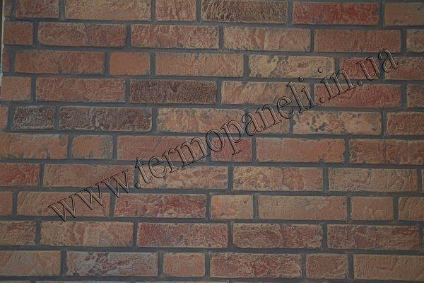 Фото 8 Теплоизоляционные фасадные термопанели. Старый кирпич. 215грн/м2 340791