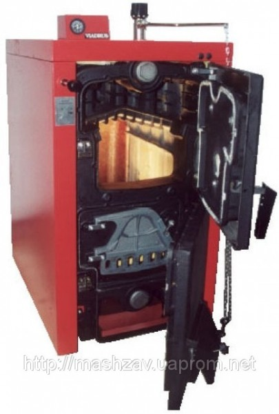 Чугунный твердотопливный угольный котел Viadrus (Виадрус) U 22 C-12 кВт — 2 секции купить в Донецке