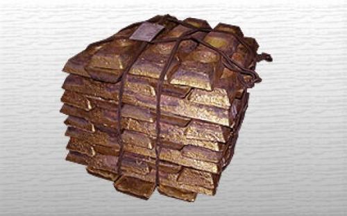 Чушка бронзовая БрО5Ц6С5, БрА10Ж3 (ГОСТ 614-97)