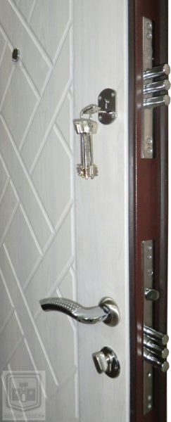 Фото 3 Вхідні металеві двері, Колекція Оптіма 330818