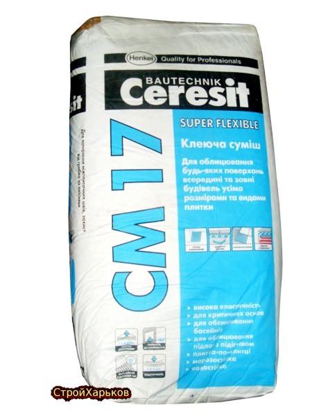 Ceresit CM 17 Эластичная клеящая смесь