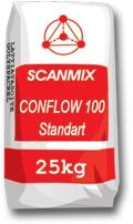 CONFLOW 100 STANDART - Самовыравнивающаяся смесь для пола. Толщина слоя не более 25 мм.
