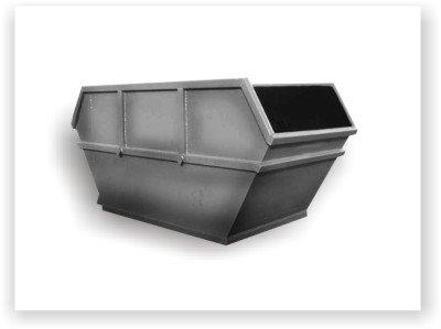 Фото  1 Металлические контейнеры DIN для ТБО закрытые и открытые - от Производителя! от 2007645