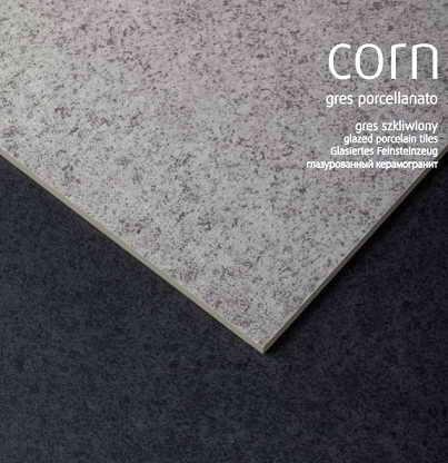 Corn grey 40x40, Corn graphite 40x40