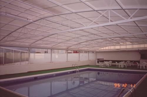 Cospico мобильные и прочные крыши бассейнов
