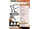 Фото  5 Настольная лампа EVROLIGHT LED Ridy-09_SP 9Вт с регулировкой, черная 2268530