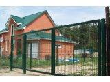 Фото  1 Ворота распашные с калиткой, ворота откатные в секционной ограждения 2272069