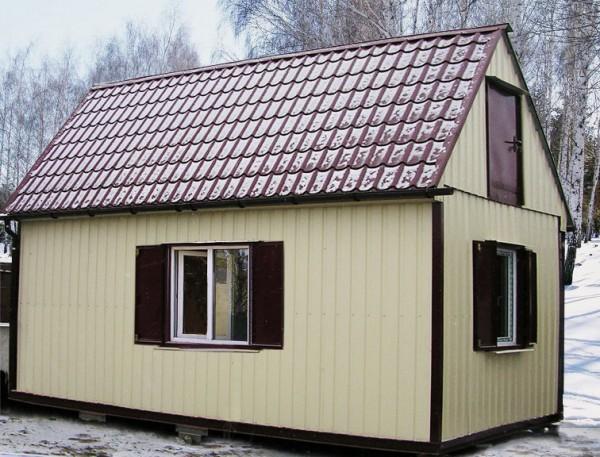 Дачные домики. Изготавливаем, монтируем на месте дачные домики различных размеров в 1-2 этажа.