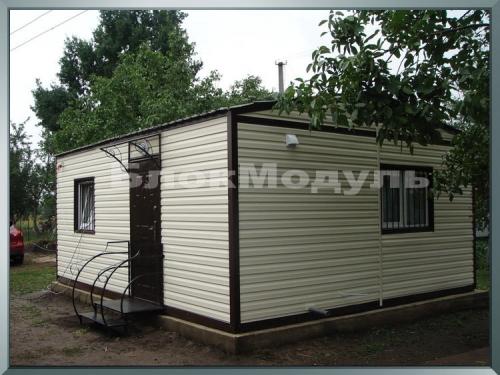 "Дачный домик с санузлом 6х2.5, комплектация ""стандарт"""