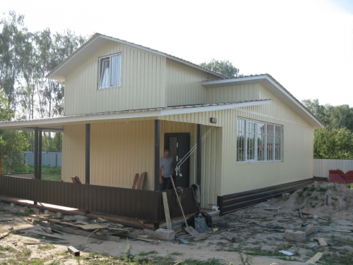 Дачный модульный домик 110- м кв.