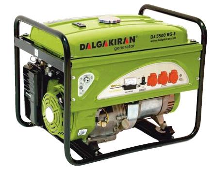 DALGAKIRAN бензогенератор Максимальная мощность:8.0кВА;Три фазы;Выходное напряжение:400В;