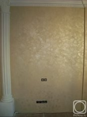 Дамаск создает оптический эффект, подобный бархатной поверхности при изменению угла отражения света.