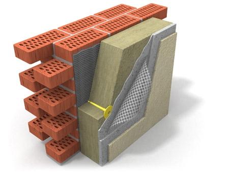 DAN Fas универсальные теплоизоляционные плиты изготовленные из базальтового волокна.