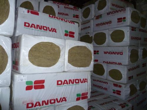 DAN fly базальтовая вата. Площадь в упаковке 7,2 м. кв, размеры 1200*600*50мм, плотность 30 кг/м. куб.
