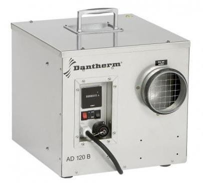 Dantherm AD 120B - адсорбционный, канальный осушитель воздуха. Осушает от -15°C. Производительность: 13 л/сут.