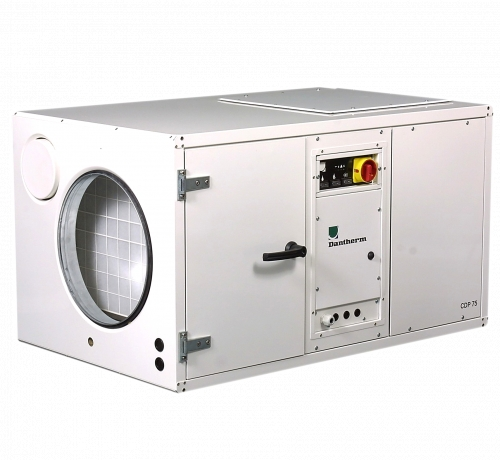Dantherm CDP 75 - осушитель воздуха для бассейна канального типа. Производительность: 108 л/сут. Производство Дания.