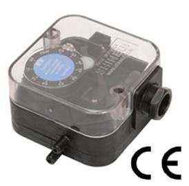 Датчик перепада давления воздуха SPV. Диап. 20-200Па,50-500Па. Релейный выход. Оптовым и постоянным покупателям скидки