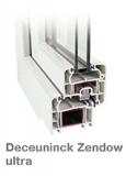 Deceuninck Zendow ultra-5 кам. -позволяет существенно расширить световой проем.70 мм. Размер 1300х1400 мм.