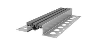 Деформационные швы (алюминиевые профиля), уплотнители швов