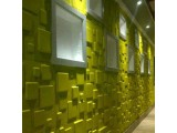 декор панель квадраты,3D стены