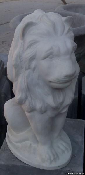 Декор Лев размеры ш/д/в - 230*200*430 мм, вес 15 кг.