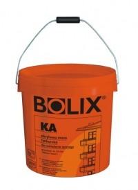 Декоративная акриловая штукатурка барашек BOLIX KA зерно 1,0 мм Расход1,8 кг/м2