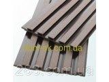 Фото  8 Декоративна фасадна панель 875х83х2200 Венге 2299767