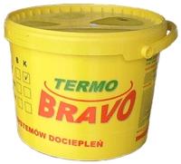 """Декоративная штукатурка """"Termo Bravo"""" барашек, короед на основе силикона (экологически чистая) 25 кг"""