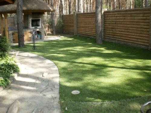 Декоративная трава Domo для ландшафта, террас, зон отдыха, детских площадок