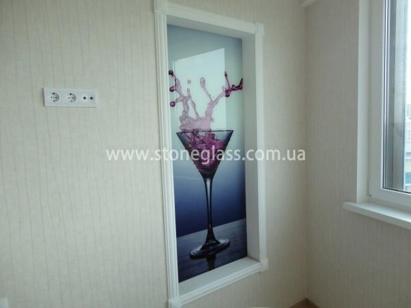 декоративные панели и картины из безопасного стекла